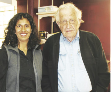 Meeting Noam Chomsky in Tucson