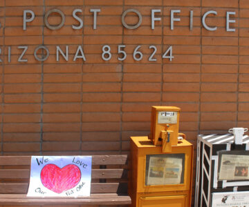 Demonstrating in Support of USPS