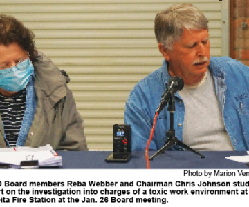 SEFD Board Receives Toxic Work Place Report