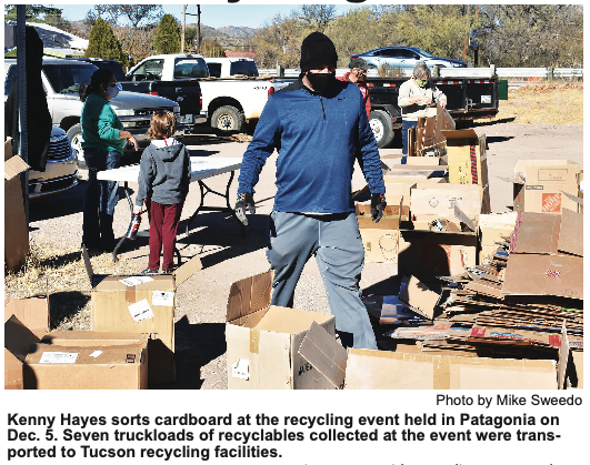 Task Force, Rotary Hold Recycling Event
