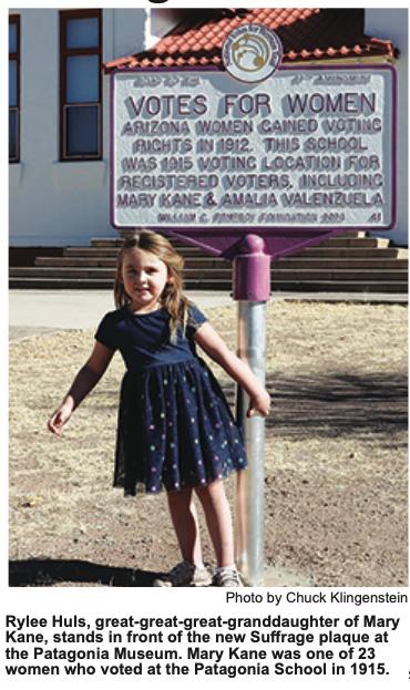 Plaque Commemorates Women's Suffrage Movement in Arizona