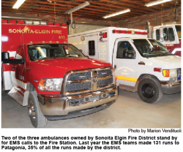Sonoita EMS Charges Cause for Concern for Patagonia Residents