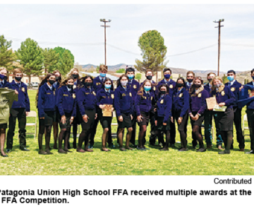 PUHS Excels in State FFA Competitions