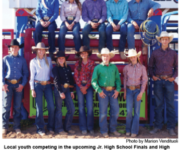 Jr. High Finals, High School Rodeo Coming to Sonoita Fairgrounds