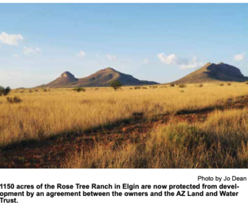 Rose Tree Ranch Signs Conservation Agreement